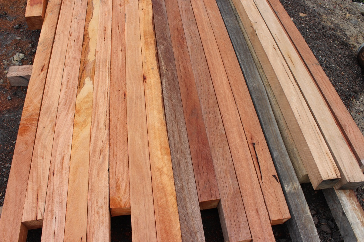 Hardwood Timber Production ~ Hardwood timber posts australian